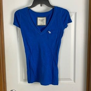 Abercrombie & Fitch Bold Blue Top